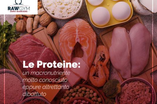 Le proteine, un macronutriente molto conosciuto eppure altrettanto dibattuto.